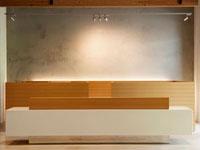 Contemporary Reception Desk 11021008291| 写真素材・ストックフォト・画像・イラスト素材|アマナイメージズ