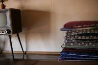 テレビと座布団