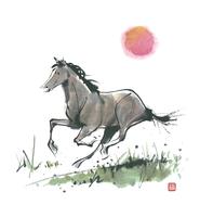 馬 11023012337| 写真素材・ストックフォト・画像・イラスト素材|アマナイメージズ