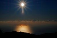 相模湾からの日の出