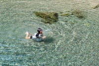 川遊び 11023020453| 写真素材・ストックフォト・画像・イラスト素材|アマナイメージズ
