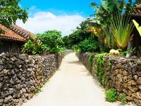 竹富島の風景 11023021262| 写真素材・ストックフォト・画像・イラスト素材|アマナイメージズ