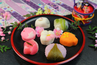 和菓子 11023021550| 写真素材・ストックフォト・画像・イラスト素材|アマナイメージズ
