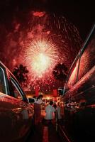 花火大会 11023022248| 写真素材・ストックフォト・画像・イラスト素材|アマナイメージズ