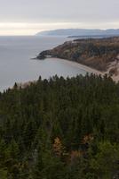 Coastal view, Quebec, Canada