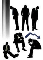 落胆するビジネスマン