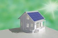 ソーラーパネルの家