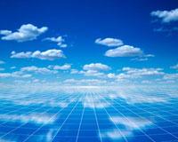 雲と放物線