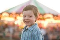 Boy in carnival