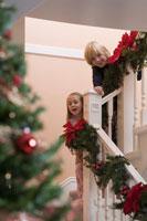 Children eagerly awaiting Christmas day