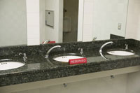 Sinks with reserved sign