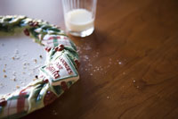 Christmas cookie plate 11029010346| 写真素材・ストックフォト・画像・イラスト素材|アマナイメージズ