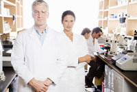scientists in laboratory