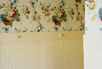 Detail of wallpaper