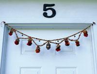 Decorations on Door