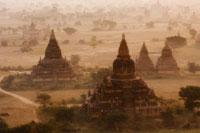 Aerial View of Bagan