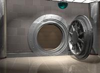 Bank Vault 11030004340| 写真素材・ストックフォト・画像・イラスト素材|アマナイメージズ