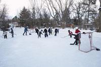 Children Playing Hockey 11030004413  写真素材・ストックフォト・画像・イラスト素材 アマナイメージズ