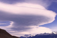 Clouds over Patagonian Icefield