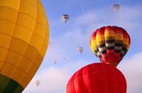 Hot Air Balloon Festival 11030010412| 写真素材・ストックフォト・画像・イラスト素材|アマナイメージズ