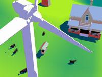 Wind Farm 11030011845| 写真素材・ストックフォト・画像・イラスト素材|アマナイメージズ