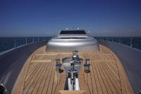 Deck of Luxury Yacht 11030018240  写真素材・ストックフォト・画像・イラスト素材 アマナイメージズ