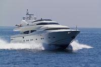 Luxury Yacht 11030018245  写真素材・ストックフォト・画像・イラスト素材 アマナイメージズ
