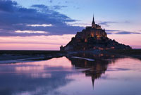 Mont Saint Michel,Normandy,France