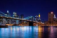 Brooklyn Bridge,Manhattan,New York City,New York,USA 11030027124| 写真素材・ストックフォト・画像・イラスト素材|アマナイメージズ