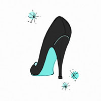 Illustration of High Heel Shoe