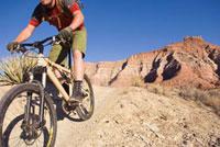 Mountain Biker,Utah,USA