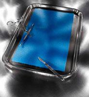 Still Life of Dissection Tray 11030027828  写真素材・ストックフォト・画像・イラスト素材 アマナイメージズ