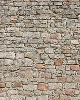Close-up of Stone Wall, Spessart, Bavaria, Germany