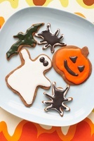 Halloween Gingerbread Cookies 11030032208| 写真素材・ストックフォト・画像・イラスト素材|アマナイメージズ