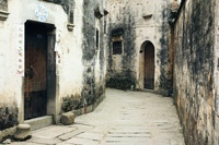 Ancient Street and Houses, Hong Cun Village, Anhui Province,