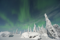 Nothern Lights, Nissi, Nordoesterbotten, Finland