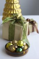 Christmas Presents with Decorations 11030033210| 写真素材・ストックフォト・画像・イラスト素材|アマナイメージズ