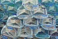Lobster Traps, Shieldaig, Wester Ross, Ross and Chromarty, L