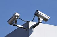Security Cameras, Clapiers, Herault, Languedoc-Roussillon, F 11030033723| 写真素材・ストックフォト・画像・イラスト素材|アマナイメージズ
