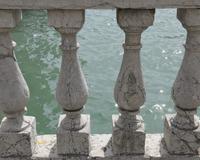 Stone Balustrade, Venice, Veneto, Italy