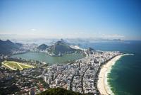 Aerial View of Ipanema Beach, Rio de Janeiro, Brazil 11030035041| 写真素材・ストックフォト・画像・イラスト素材|アマナイメージズ