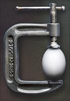 Egg in Vise
