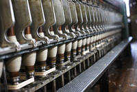 Industrial Wool Spinning Machine, Ontario, Canada