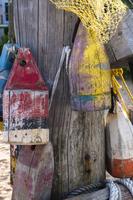Lobster Trap Buoys, Provincetown, Cape Cod, Massachusetts, U
