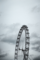 The London Eye is a giant Ferris wheel situated on the banks