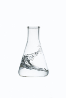 Experimental Energy Concept, Wave inside Conical Flask 11030036915| 写真素材・ストックフォト・画像・イラスト素材|アマナイメージズ