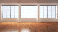 3D-Illustration of Empty Room 11030038781| 写真素材・ストックフォト・画像・イラスト素材|アマナイメージズ