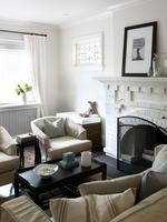 Home Interior, Living Room, Toronto, Ontario, Canada 11030039456| 写真素材・ストックフォト・画像・イラスト素材|アマナイメージズ