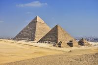 Pyramids of Giza, Giza, Cairo, Egypt, Africa