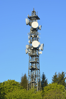 Cell Tower, Odenwald, Hesse, Germany